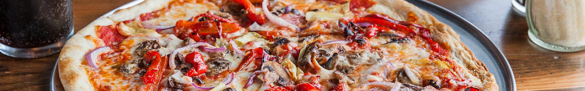 Nine Pies Primavera Pizza